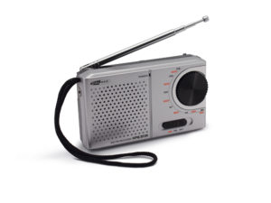 CaliberHPG311R - Portabel AM/FM Radio - 3,5mm out