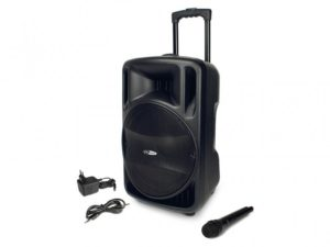 CaliberHPG521BT - Bluetooth/FM/USB/SD Karaoke Trolley