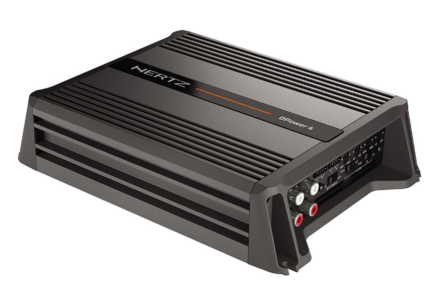 Hertz DPower 4 - D-CLASS 4 CHANNEL AMPLIFIER 4x65W