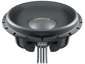 """Hertz MG 15 BASS 2X1.0 -15"""" PP CONE MOB.GROUP 2 VC 1 Ohm"""